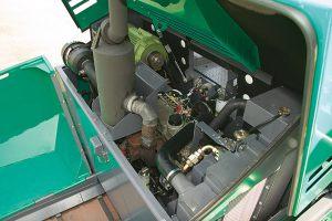 Двигатель асфальтоукладчика